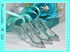 glass slipper party favor tiny cinderella princess glass slippers set of six for birthday