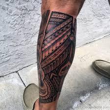 55 best tribal tattoos on leg