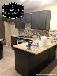 finishing kitchen cabinets ideas oak cabinet ideas tea staining unfinished oak cabinet staining