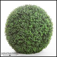 large silk boxwood balls outdoor decor artificial plants unlimited