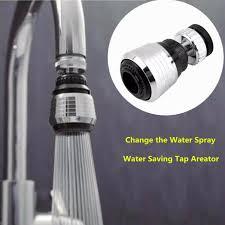 50pcs set 360 degree rotate nozzle torneira kitchen water saving