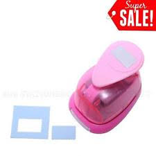 rectangle paper punch ebay