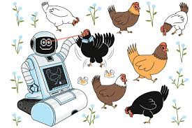 Plant Nanny Wiki Robot Nannies Look After 3 Million Chickens In Coops Of The Future