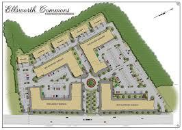 building site plan the ellsworth commons site plan