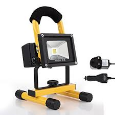 10w rechargeable flood light meikee 10w rechargeable led work light 750lm portable flood light