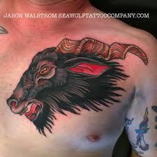 goat tattoo minnesota tattoo shop