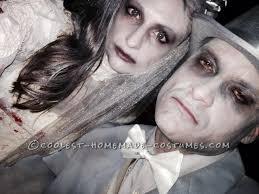 Halloween Bride Groom Costumes Ghost Bride Gloom Couple Halloween Costume