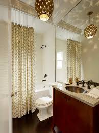 Ceiling Hung Curtain Poles Ideas Ceiling Hung Shower Curtain Choices To Decohoms