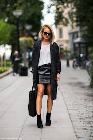 short leather motorcycle boots how to style black mini leather skirts u2013 the fashion tag blog