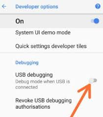 debugging android to use usb debugging on android 8 0 oreo of all make sure