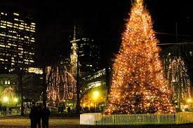 christmas tree in boston a christmas tree symbolizes a cross border friendship