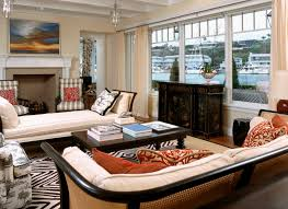 backless sofa living room beach with area rug bold graphics bold