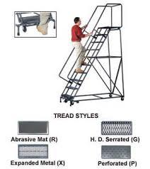 rolling ladders steel rolling warehouse ladder