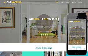 home interior website home modeling an interior category bootstrap responsive web template