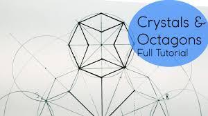 crystal u0026 octagons how 2 draw geometric patterns dearingdraws