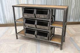 Industrial Shelving Unit by Industrial Shelving Unit Metal Reclaimed Timber