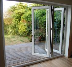 Glass Patio Door Folding Patio Doors Look Great In Your Home The Home Redesign