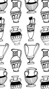 Greek Vase Design Greek Vase Pattern Copyright Alanna Cavanagh Would Like To See As