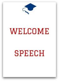 Thanksgiving Welcome Speech High School Graduation Speeches