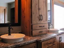 Rustic Wood Bathroom Vanity - bathroom western bathroom vanities 12 swish s wood vanity vessel
