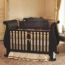 Convertible Sleigh Crib 24 Antique Style Baby Cribs Antique Spindle Cradle In Versailles