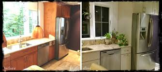 the benefits of kitchen cabinet painting and surface refinishing