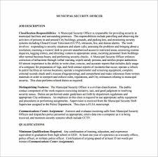 Security Supervisor Resume Tips To Write Your Security Officer Resume