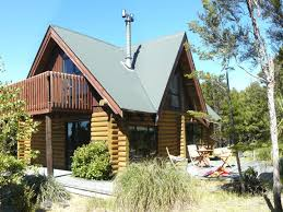 mt lyford accommodation log chalet