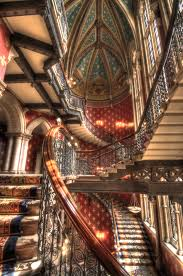 London Wall Murals Grand Staircase At St Pancras Renaissance Hotel London Nick