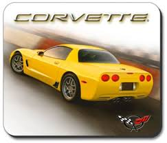 yellow corvette c5 c5 z06 yellow corvette computer mouse pad corvette depot