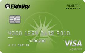 fidelity rewards visa signature card frequently asked questions