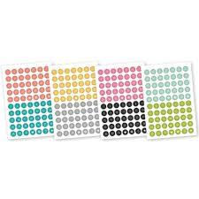 simple stories carpe diem a5 planner stickers numbers