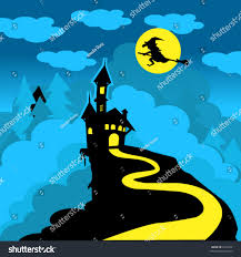 dracula castle witch stock vector 2343346 shutterstock