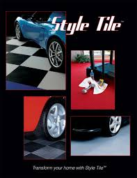 garageaccessoriesrus com style tile interlocking floor tile style tile interlocking floor tiles are available in a tire tread pattern a coin pattern and a drain tile