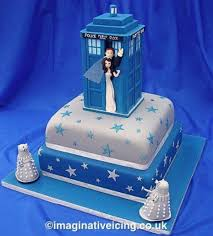 this doctor who wedding cake is amazing pic global geek news
