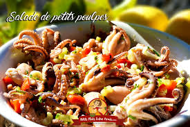 cuisiner poulpe recette de salade de petits poulpes petits plats entre amis