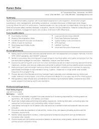Program Specialist Resume Safety Professional Resume Free Resume Example And Writing Download