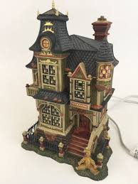 department 56 snow village halloween dept 56 halloween barleycorn manor dickens u0027 village all hallows