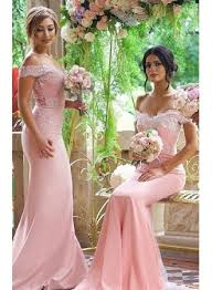 of honor dresses blushing pink bridesmaid dress the shoulder lace