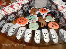 Decorate Halloween Cookies Zombie Party Party Planning Ideas For Your Zombie Themed Event