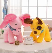 Singing Stuffed Animals Peek A Boo Elephant Baby Plush Singing Stuffed Animated Doll