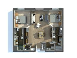 Architectural Floor Plan by Architectural Floor Plan Rendering Model