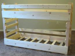 2x4 Bunk Beds Build Your Own Bunk Bed Bunk Bed Built In Bunk Bed