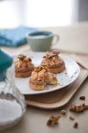 cuisiner marrons frais tartelette minute crème de marrons coing et pignons caramélisés