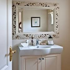 Decorate A Bathroom Mirror Bathroom Breathtaking Large Frameless Bathroom Mirrors