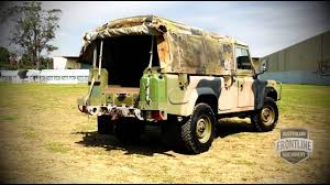 land rover australian ex military land rover 4x4 ffr youtube