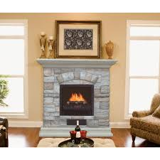 glamorous stacked wood fireplace facade pictures decoration