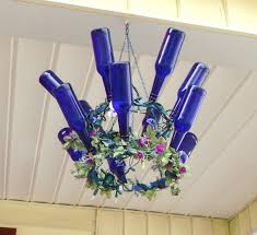 How To Make A Chandelier Out Of Beer Bottles 20 Bright Ideas Diy Wine U0026 Beer Bottle Chandeliers