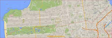 Downtown San Francisco Map by San Francisco Bay Area Photo Blog May 2015