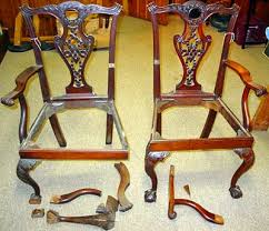 furniture repair pictures chippendale chairs